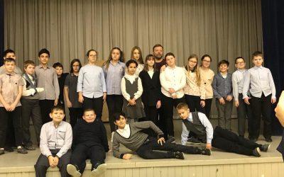 Мастер класс  в рамках проекта «Театр в школе»