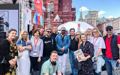 Команда театра «Человек» на Книжный фестиваль «Красная площадь»!